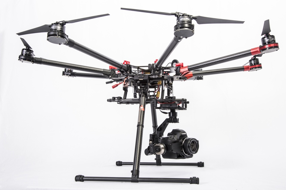DJI Spreading Wings S1000 с камерой