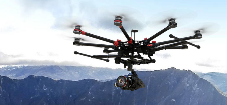 dji spreading wings s1000 Обзор