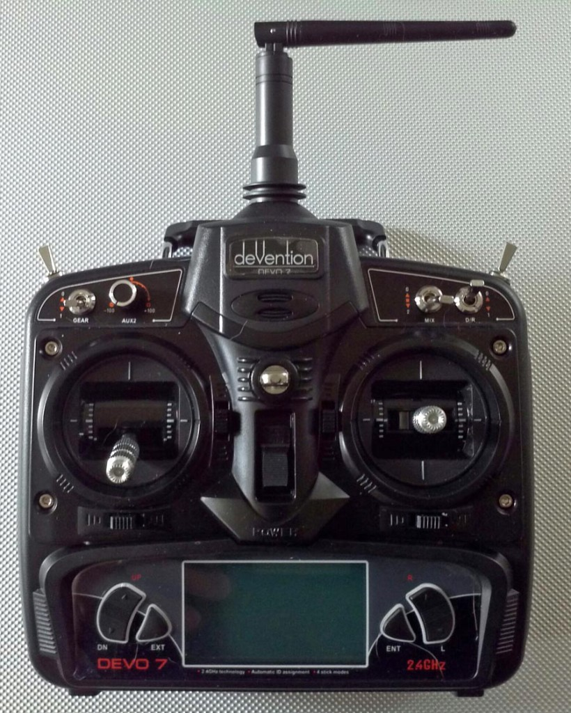 Walkera MX400 UFO DEVO 7